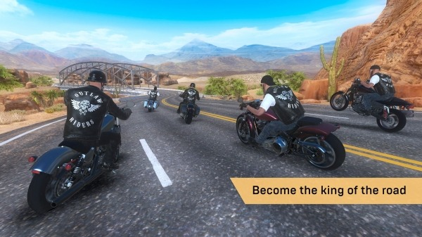 Outlaw Riders: War Of Bikers Android Game Image 3
