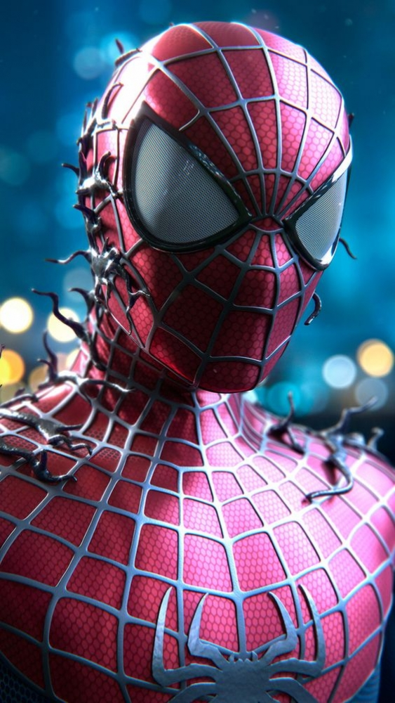 Spiderman Mobile Phone Wallpaper Image 1