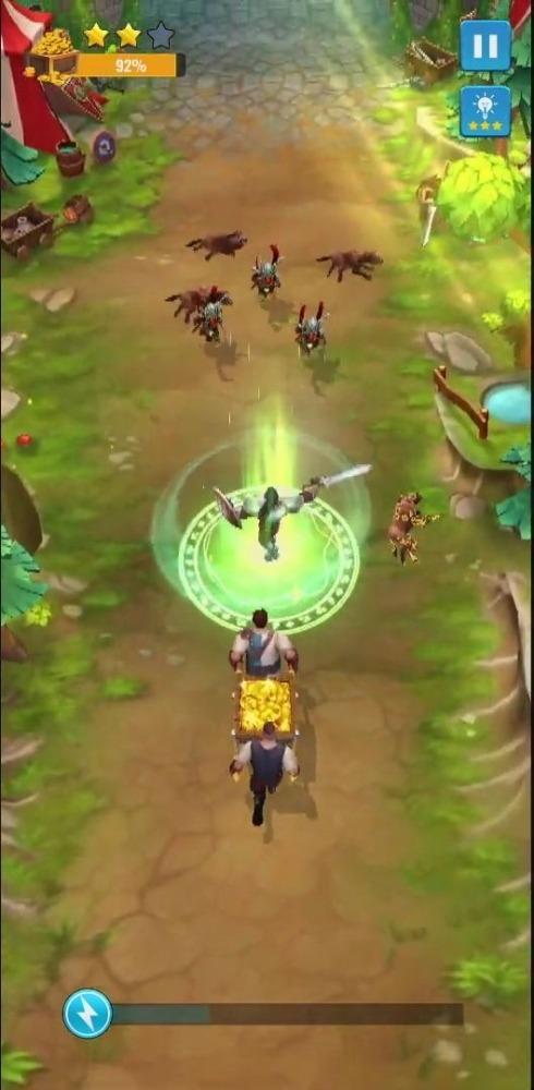 Raid And Rush Android Game Image 2