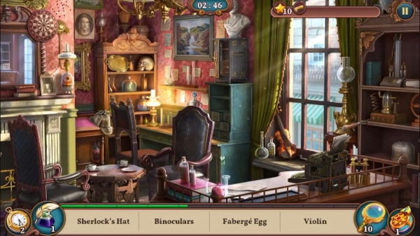Sherlock: Hidden Match-3 Cases Android Game Image 2