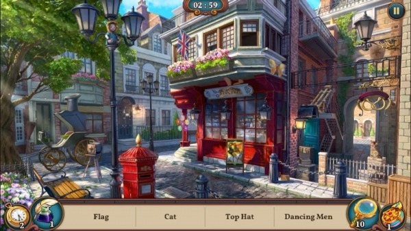 Sherlock: Hidden Match-3 Cases Android Game Image 3