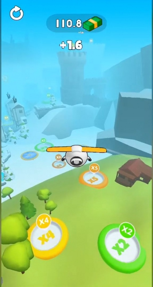 Sky Glider 3D Android Game Image 1