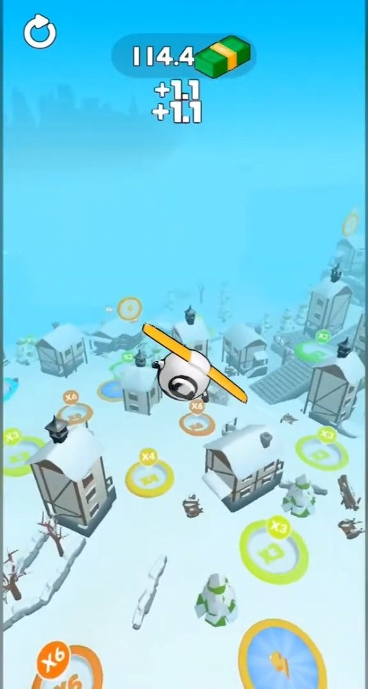 Sky Glider 3D Android Game Image 2