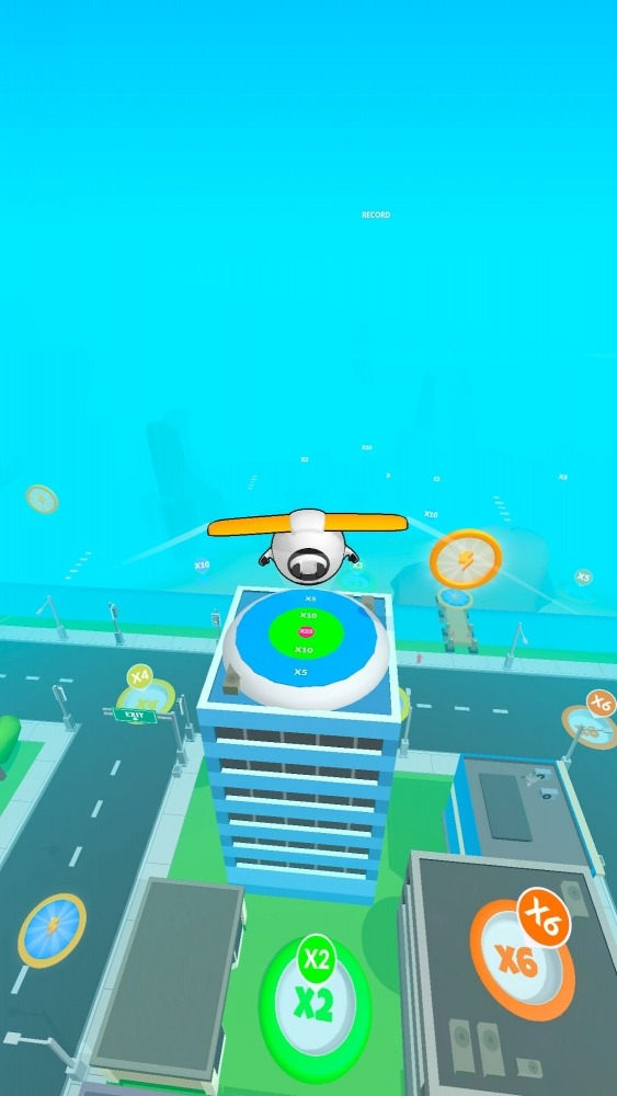 Sky Glider 3D Android Game Image 3