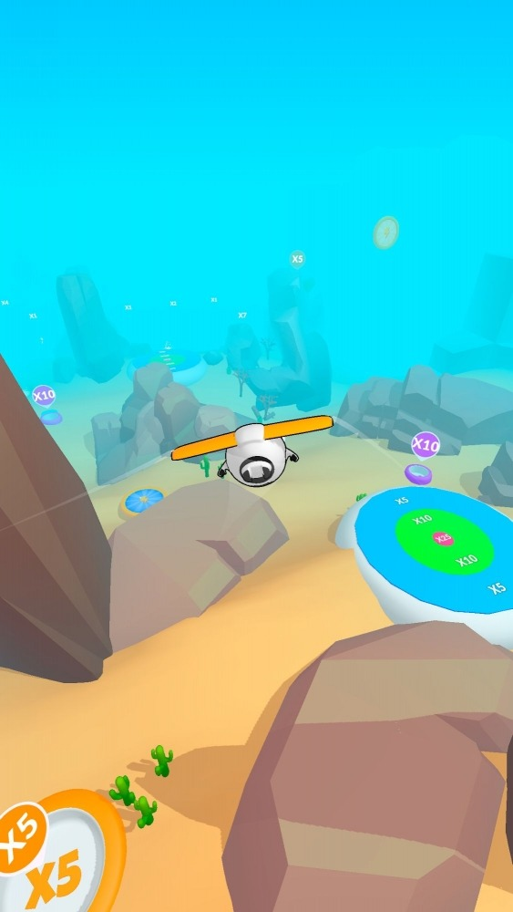 Sky Glider 3D Android Game Image 4
