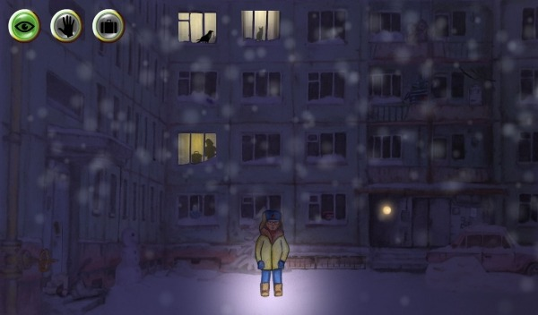 Winter Night Adventure Android Game Image 1