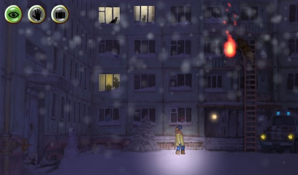Winter Night Adventure Android Game Image 2