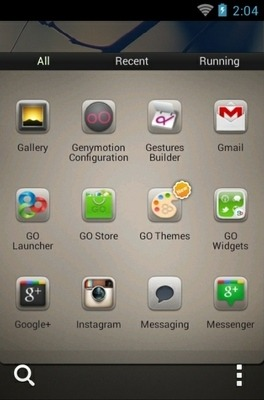 Autumn Go Launcher Android Theme Image 2