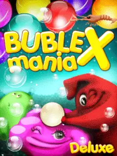 Bubble X Mania: Deluxe Java Game Image 1