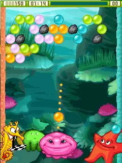 Bubble X Mania: Deluxe Java Game Image 3