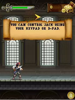 Pirates Of The Caribbean: On Stranger Tides Java Game Image 2