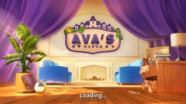 Ava's Manor - A Solitaire Story Android Game Image 1
