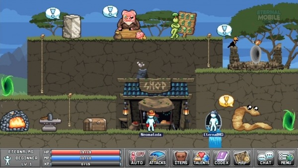Legends Of Idleon -- Idle MMO Android Game Image 2