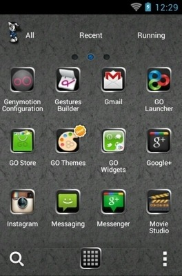 Mr Lonely Go Launcher Android Theme Image 2