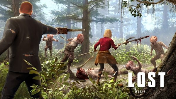 Lost In Blue: Survive The Zombie Islands Android Game Image 1