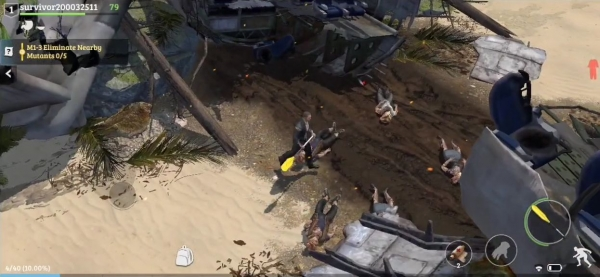 Lost In Blue: Survive The Zombie Islands Android Game Image 4
