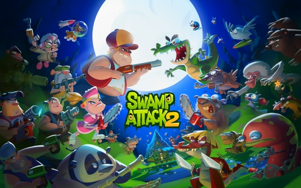 Swamp Attack 2 Android Game Image 1