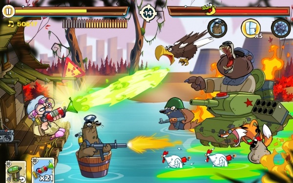 Swamp Attack 2 Android Game Image 2