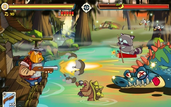 Swamp Attack 2 Android Game Image 4