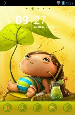 Beautiful Day Go Launcher Android Theme Image 1
