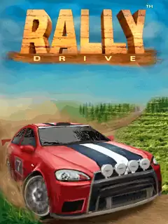 Rally Drive Java Game Image 1