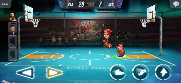 Basketball Arena Android Game Image 2