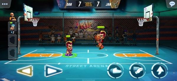 Basketball Arena Android Game Image 3