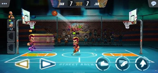 Basketball Arena Android Game Image 4