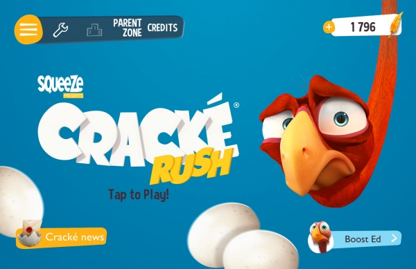 Cracké Rush - Free Endless Runner Game Android Game Image 1