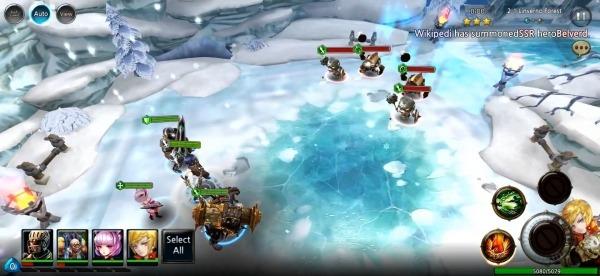 Heaven Saga Android Game Image 4