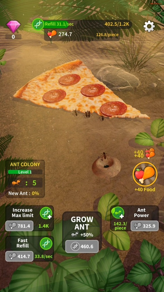 Little Ant Colony - Idle Game Android Game Image 1