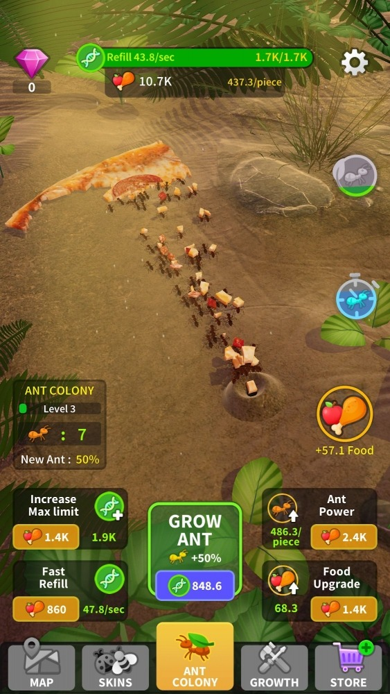 Little Ant Colony - Idle Game Android Game Image 2