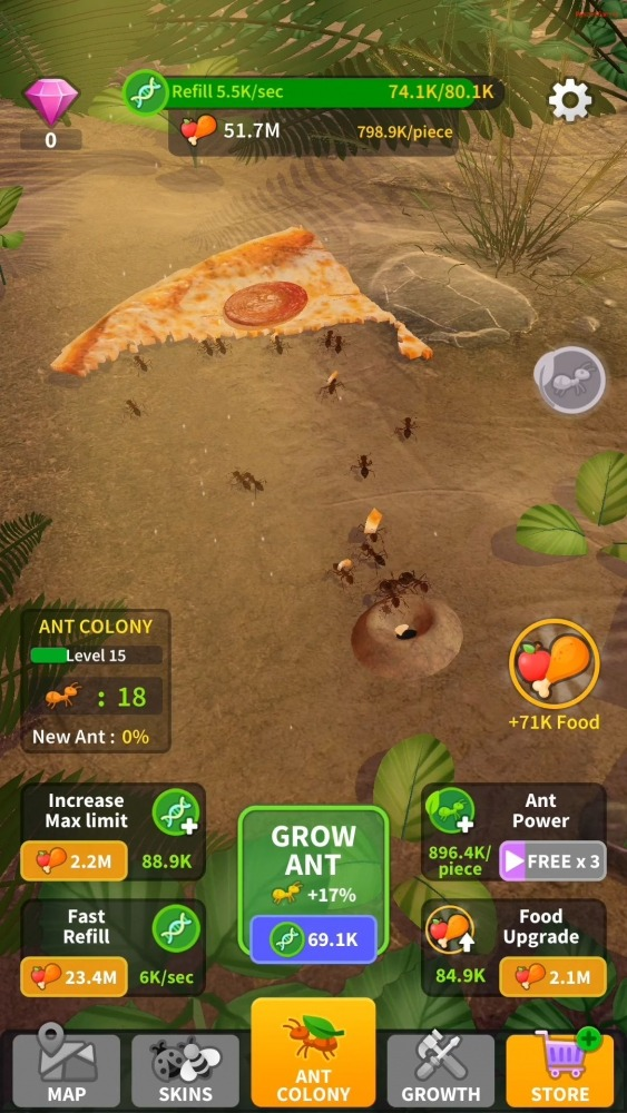 Little Ant Colony - Idle Game Android Game Image 3