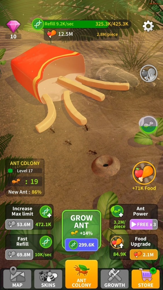Little Ant Colony - Idle Game Android Game Image 4
