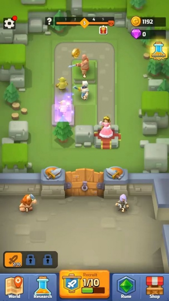Rescue My Queen! Android Game Image 1