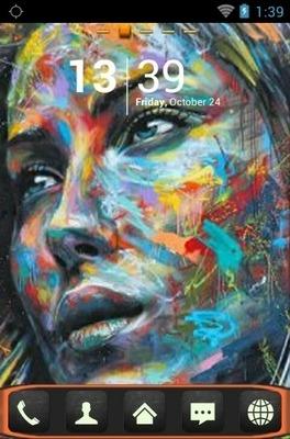 Graffiti Go Launcher Android Theme Image 1