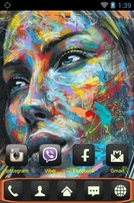 Graffiti Go Launcher Android Theme Image 2