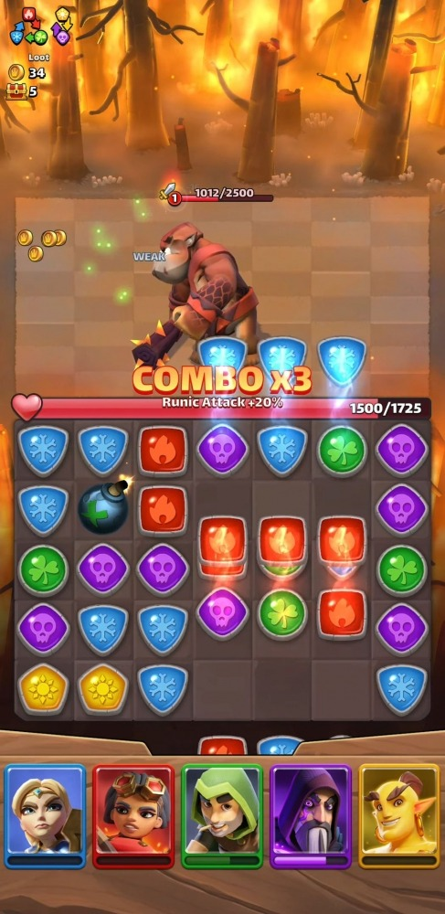 Puzzle Breakers Android Game Image 4