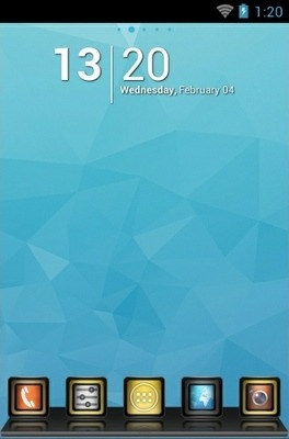 Stellar Go Launcher Android Theme Image 1