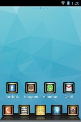 Stellar Go Launcher Android Theme Image 2