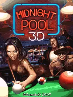 Midnight Pool 3D Java Game Image 1