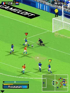 Real Soccer 2011 Java Game Image 2