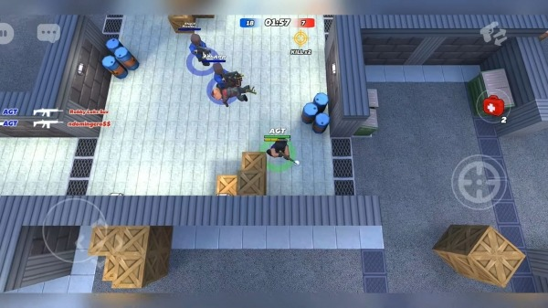 Kuboom Arcade: 3D Shooter & Battle Royale Android Game Image 1