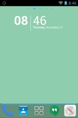 Google Android Go Launcher Android Theme Image 1