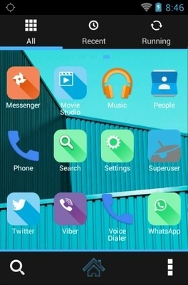 Google Android Go Launcher Android Theme Image 2