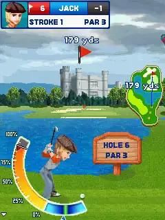 Let's Golf! Java Game Image 2