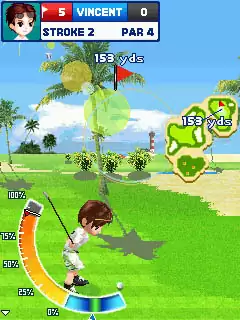 Let's Golf! Java Game Image 3