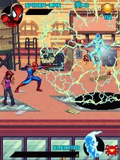 Spiderman Toxic City Java Game Image 2