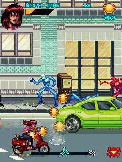 Spiderman Toxic City Java Game Image 3