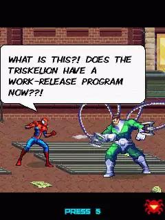 Spiderman Toxic City Java Game Image 4